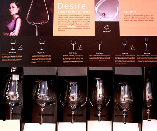 How to choose a glass of red wine, white wine glass, champagne glass.