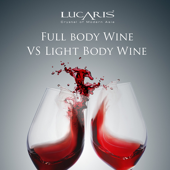 What is the difference between Full Bodied and Light Bodied Wine?