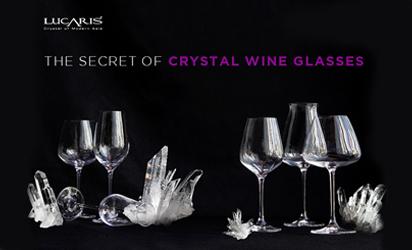 """ความลับของ """"แก้วไวน์คริสตัล (Crystal Wine Glass)"""