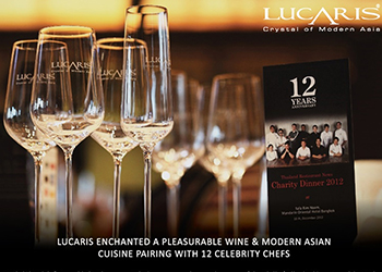 LUCARIS with 12 Celebrity Chef Dinner