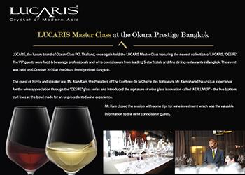 LUCARIS Master Class at the Okura Prestige Bangkok