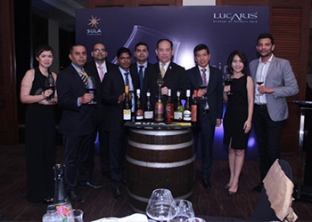 LUCARIS Introduced 'Aerlumer®' the Signature of Wine Glass Innovation First in Mumbai