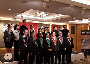 LUCARIS the Official Partner of the Chaîne des Rôtisseurs Jeunes Sommeliers Compétition 2017 Thailand