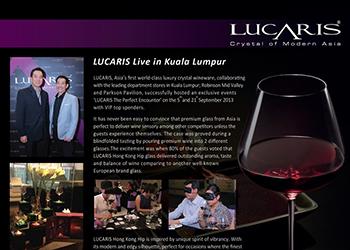LUCARIS Live in Kuala Lumpur
