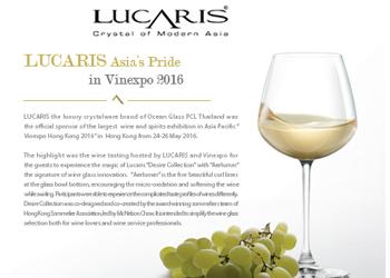 LUCARIS Asia's Pride in Vinexpo 2016