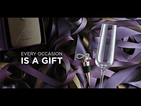 All Year Round Crystal Gift Collection 2018