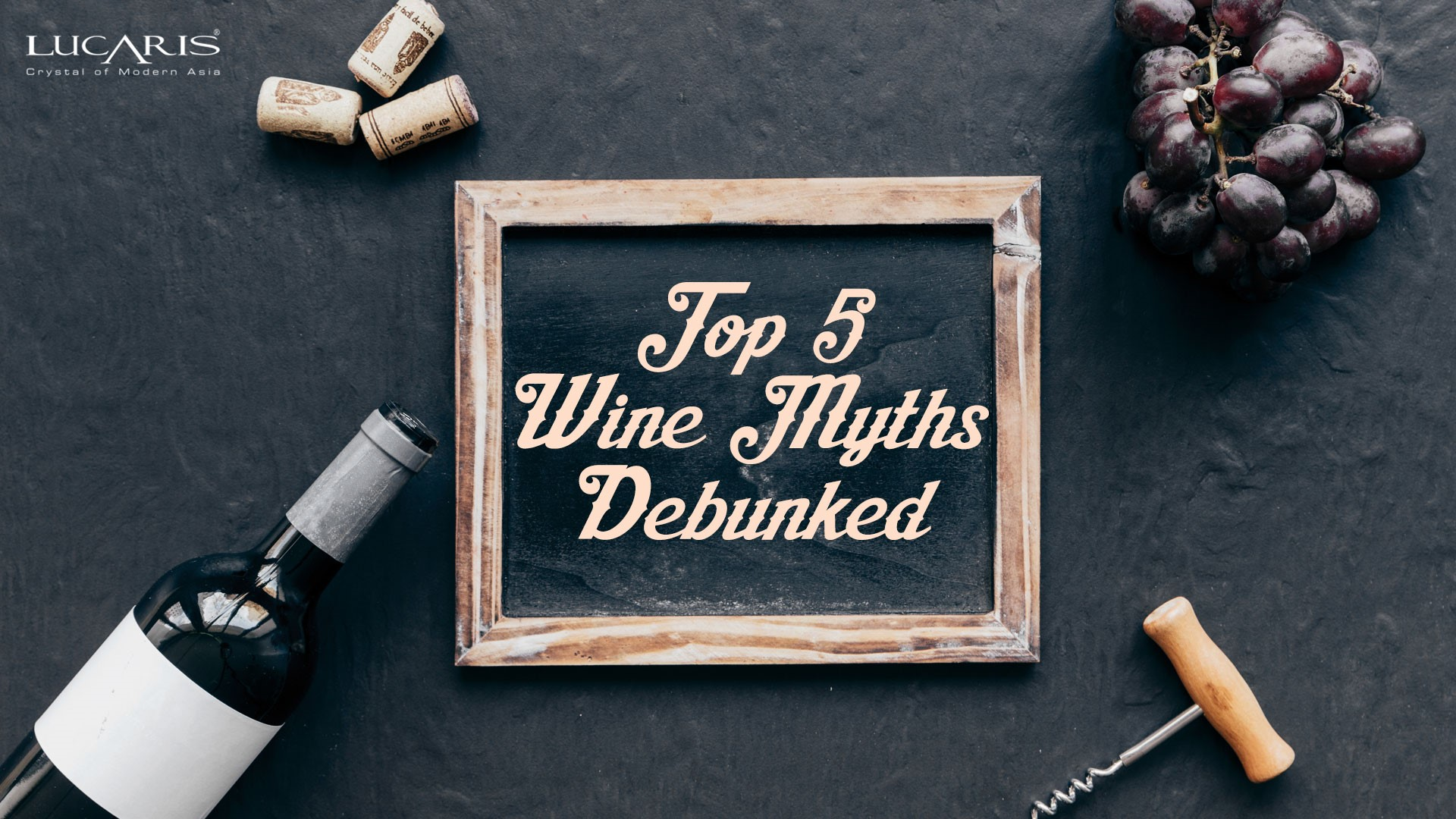 Top 5 Wine Myths debunked!
