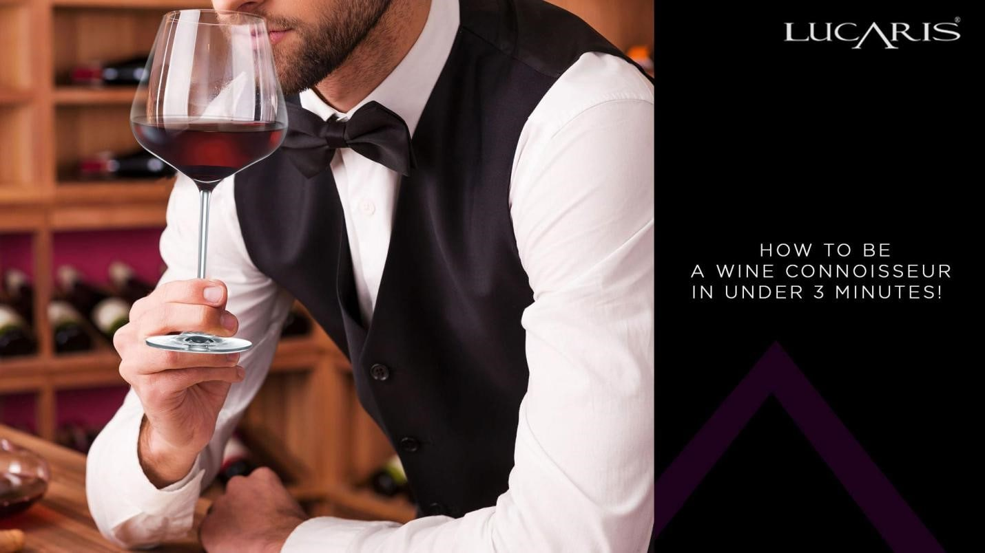 How to become a wine connoisseur in under 3 minutes!