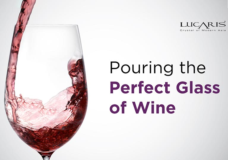 Pouring the Perfect Glass of Wine