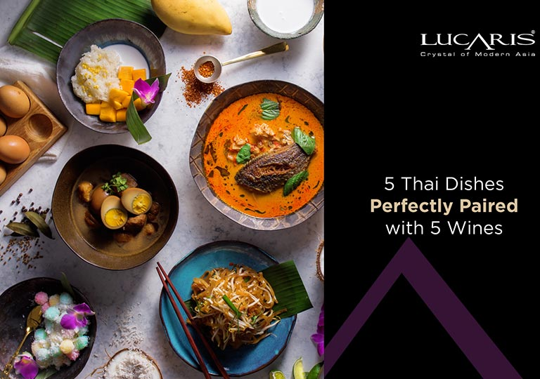 5 Thai Dishes Perfectly Paired with 5 Wines