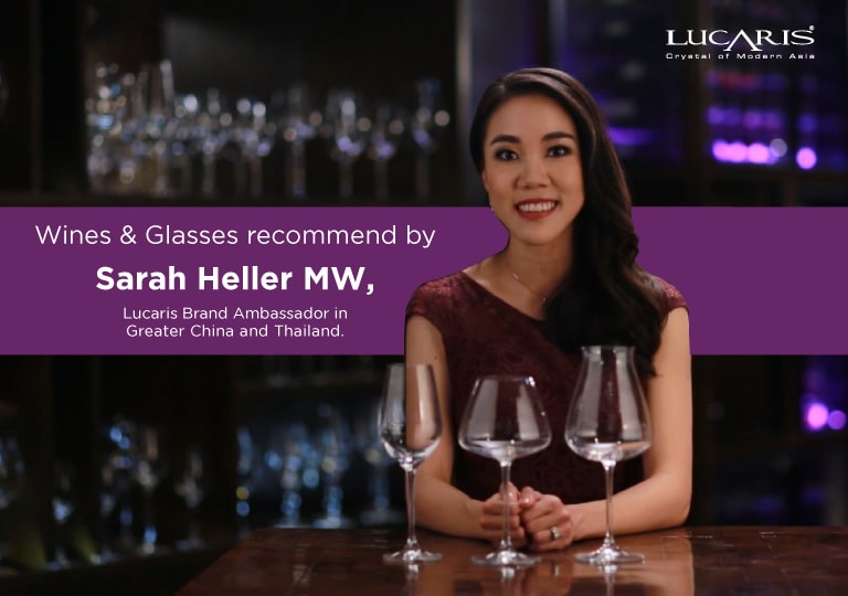 EP 2: Wine appreciation with the right wine glass by Asia's Youngest Master of Wine