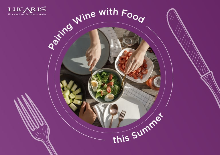PAIRING WINE WITH FOOD AND DESSERT THIS SUMMER